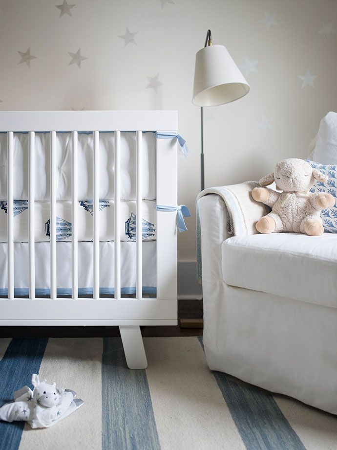 A magical nursery for you & your baby boy | Image via Glitter Guide of photographer Lucy Cuneo's nursery