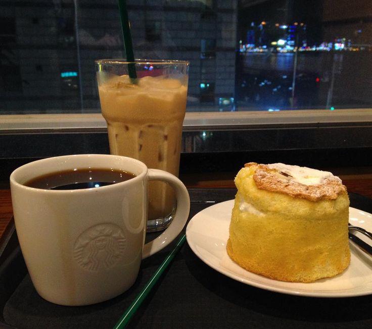 #Starbucks #castella #americano #cafelatte #gwangalli #스타벅스 #카스텔라 #아메리카노 #카페라떼 #광안리