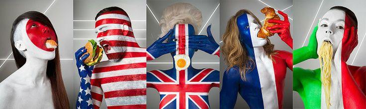 Flag Models by - ICHER JONATHAN - www.jonathanicher.com