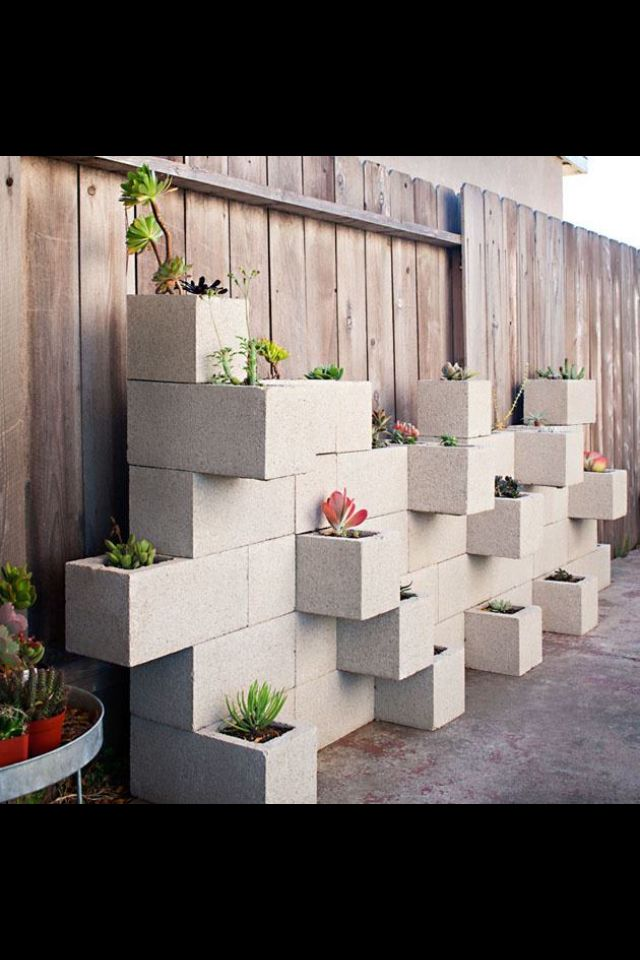 Best 25 Cinder blocks ideas on Pinterest Cinder block garden