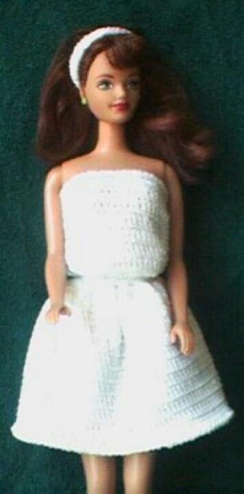 3223 Best Barbie Crochet 10 Images On Pinterest Barbie Clothes