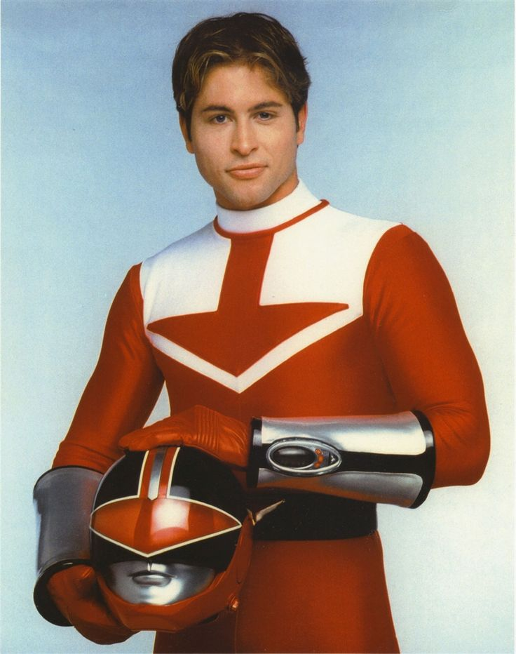 Wes Collins - Time Force Red Ranger