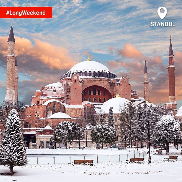 Istanbul in the snow. A sight to behold, wouldn't you say? #LongWeekend