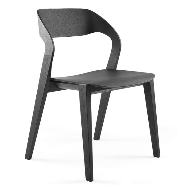 Mixis stacking all wood chair is constructed with a plywood seat and back on a solid timber frame, which connect together perfectly creating a chair with fluid delicate lines. Stackable 4 high on the floor. Mixis is available in natural …