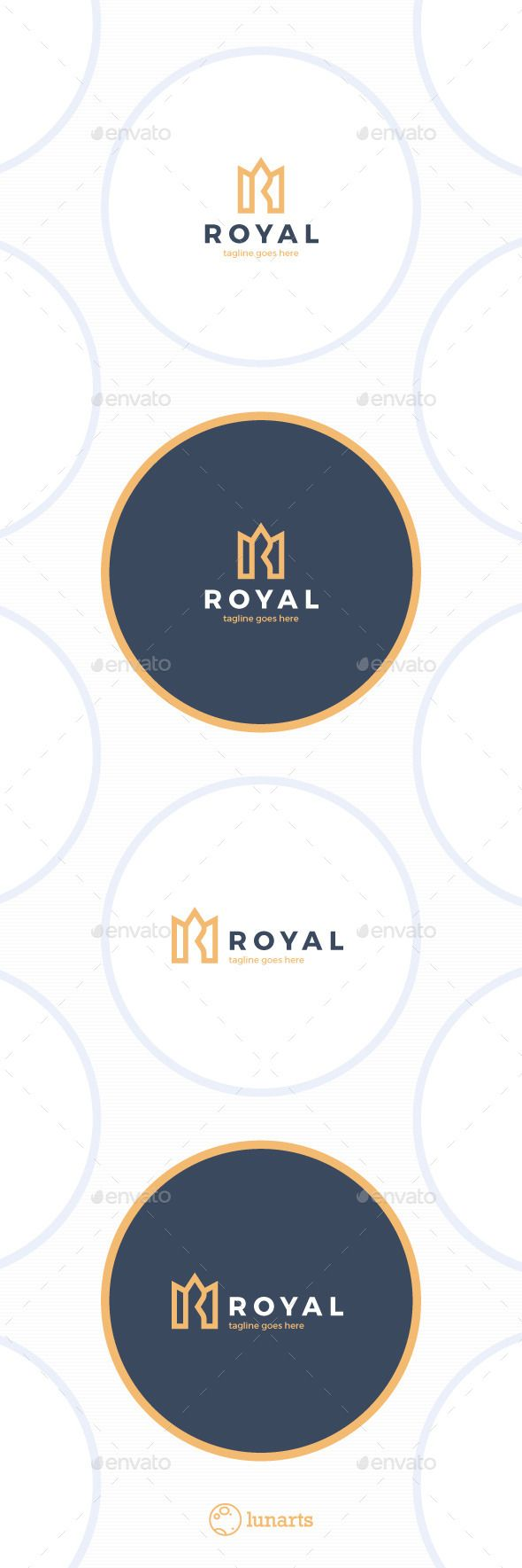 Royal Crown Logo  Luxury  Letter R — Vector EPS #royal blue #security • Available here → https://graphicriver.net/item/royal-crown-logo-luxury-letter-r/11690432?ref=pxcr