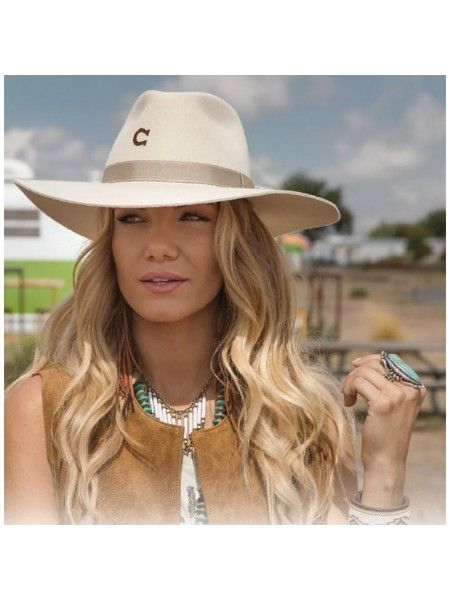 Charlie 1 Horse Highway – Wool Cowgirl Hat in 2019  d02528cccf5f