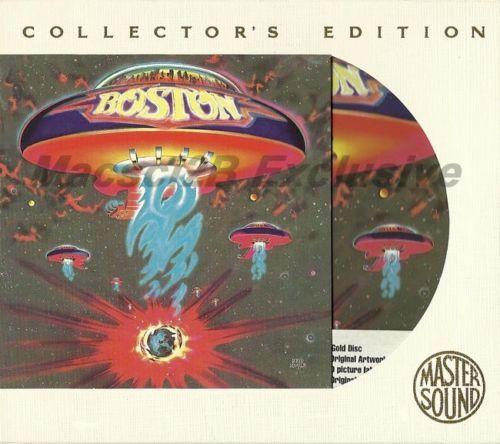 BOSTON MASTER SOUND 24K GOLD MASTER COLLECTORS EDITION AUDIOPHILE CD