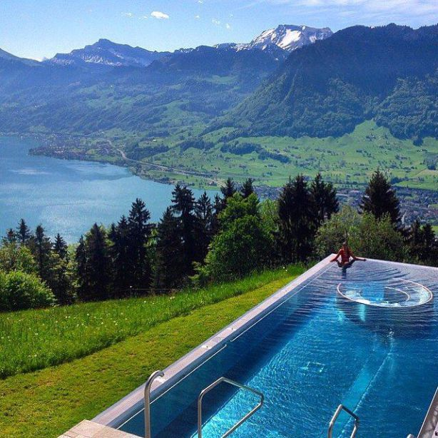 Switzerland Travel Summer Hotel Villa Honegg Hotel Villa Honegg