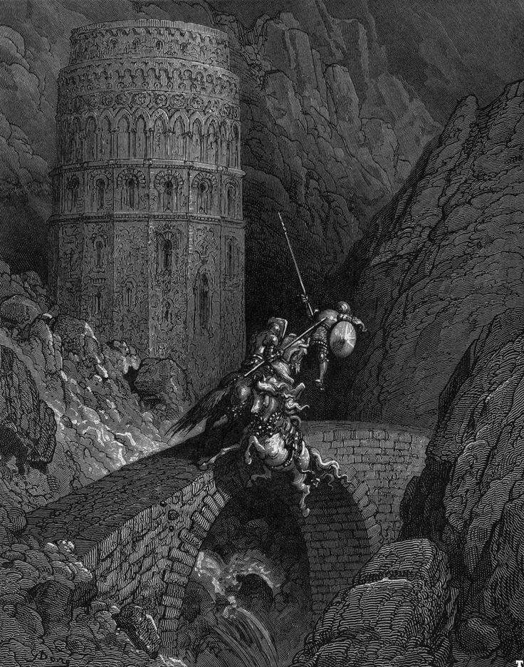 "Gustave Doré. Ludovico Ariosto´s  ""Orlando Furioso"". c. 1883. Magic Transistor on Tumblr"