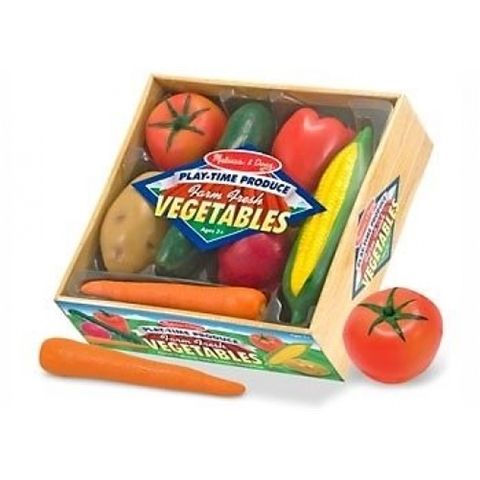 M&D Melissa and Doug Pretend Play Time Vegetables set