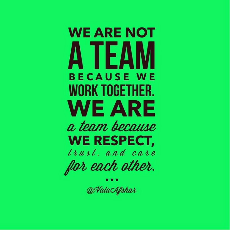 .Love this quote about team building