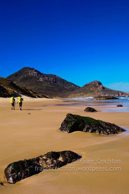 West Ruggedy Beach - NW Circuit of Stewart Island/Rakiura, New Zealand
