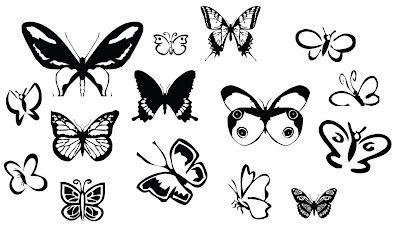 KLDezign SVG: Butterflies ... free