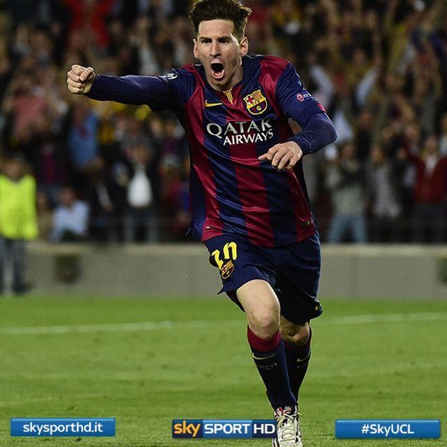 #Messi devastante nella serata di Champions: doppietta al Bayern e sigillo finale di Neymar per il 3-0 del Barcellona ai tedeschi
