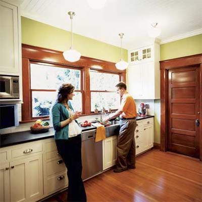 After: Kitchen   A 1908 Cottage With Simple Elegance   Photos   Remodels   This Old House