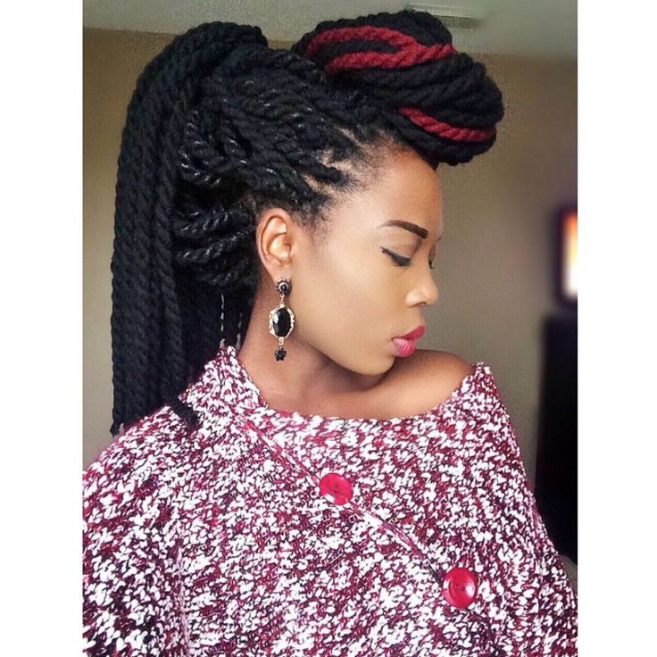 Yarn Twists Ideas Styles Tips Goals Black Hair