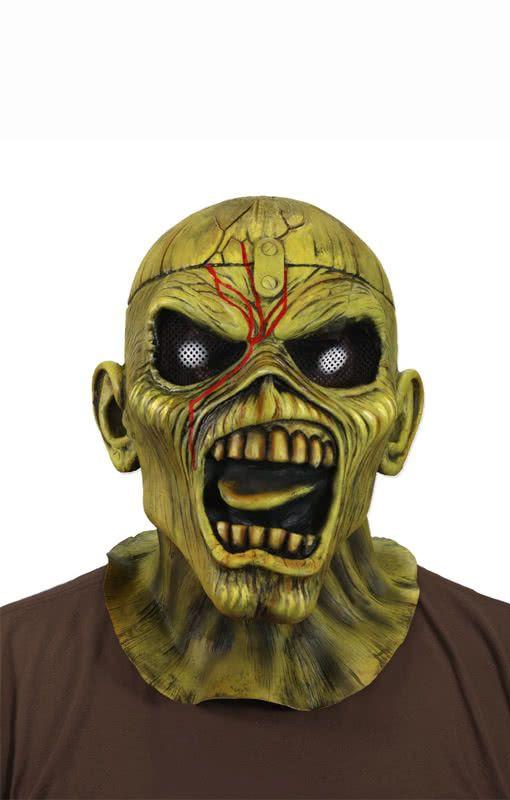 Iron Maiden Maske Eddie Maske Horror Shop Com Halloween Masken