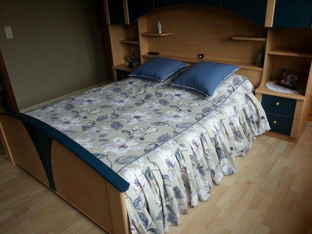 Le couvre lit que j'ai réalisée