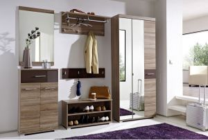 Mobilier hol HOMELINE -CUIER HOMELINE 1 - mobilier cuier hol, cuier hol cu dulap, cuier hol cu oglinda