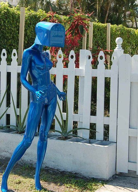 Mannequin Mailbox, this is the best :)