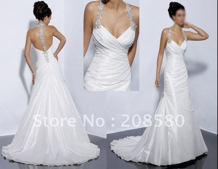 Backless Wedding Gowns: Best 25+ Halter Style Wedding Gowns Ideas On Pinterest