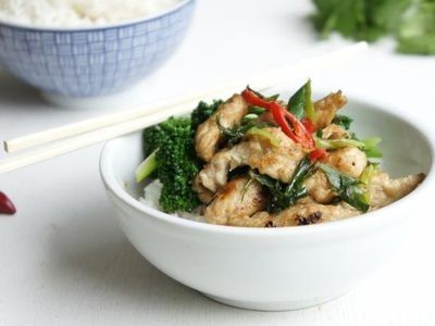 Salt and Pepper Chicken with Dried Chillies Recipe