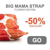 Limited Big Mama Straps Flower - SALE - NEW PRICE $64.50 #beanbags #outdoor #indoor #beanbag #soosantai #quality #kid #relaxing #rest #bean #bag #confort #confortable