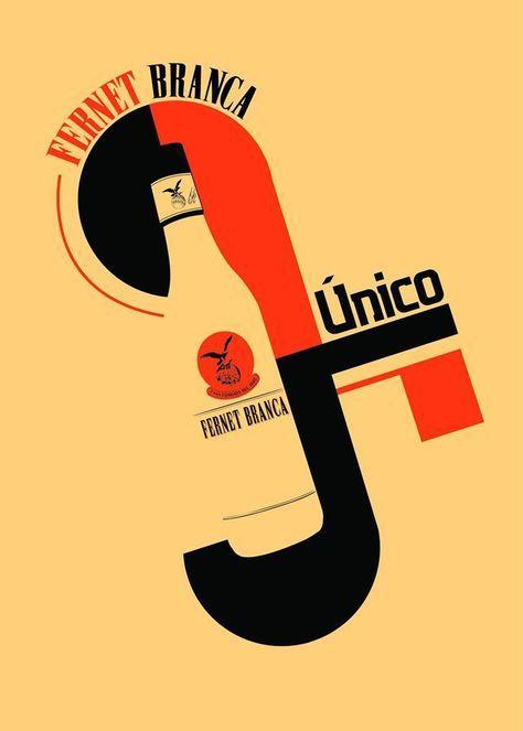 Un afiche único y su historia. Arte único de Fernet Branca - Arte, creatividad y diseño.
