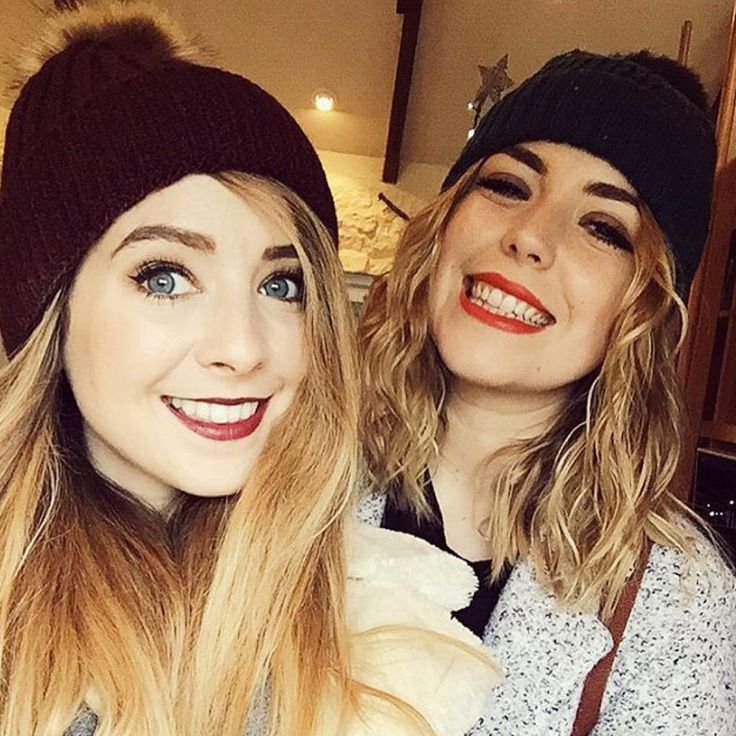 Zoella and Poppy Deyes (Zoella's boyfriend's sister)