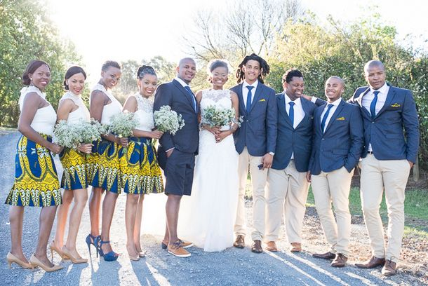 Sunny African Print Wedding at The Glades by CC Rossler {Tumi & Moe} | SouthBound Bride