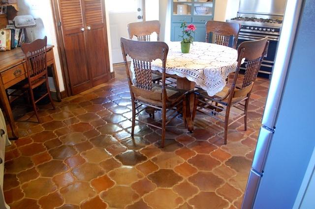 17 Best Images About Terra Cotta Floor Tile On Pinterest