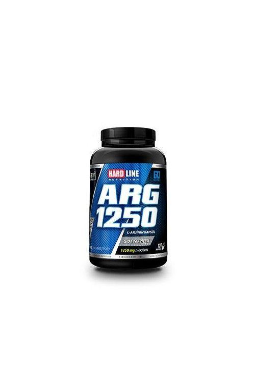 Hardline ARG 1250 her bir servisinde 1250mg L-Arjinin içeren amino asit takviyesidir. Hardline ARG 1250 içerdiği L-Arjinin sayesinde nitrik oksit NOX üretiminde kullanılan bir amino asittir.