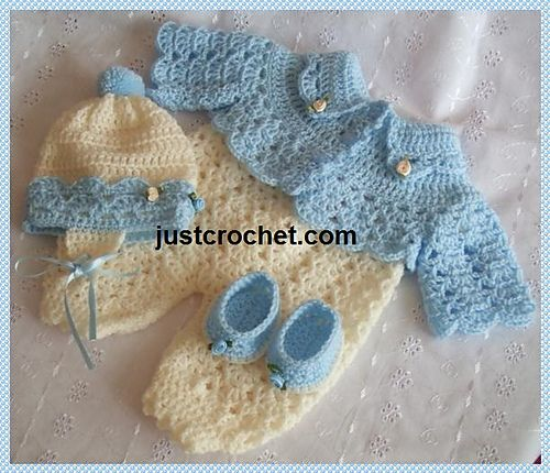 Ravelry: Baby Crochet Pattern JC54P pattern by Justcrochet Designs