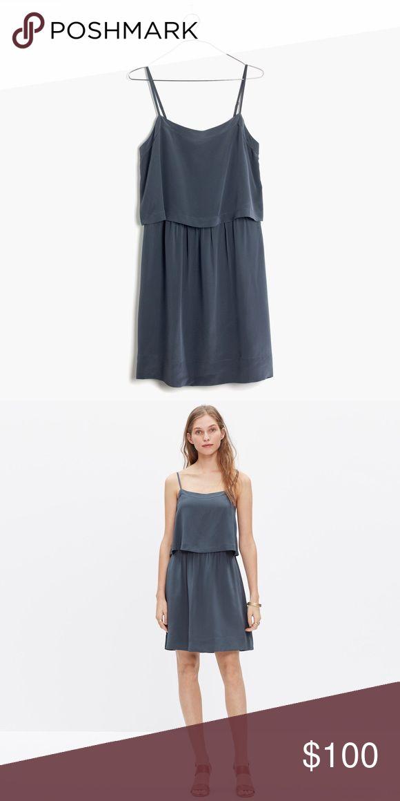 Madewell Silk Cami Dress Cute lightweight dress by Madewell. Perfect condition. NWOT Madewell Dresses Mini