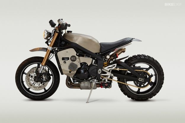 Classified Triumph 675 'Doomsdaytona' Real beauty, simple but strong
