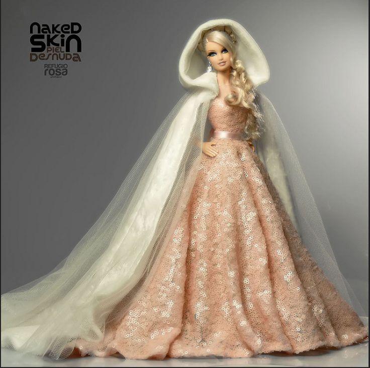 Refugio Rosa Naked Skin Barbie Doll
