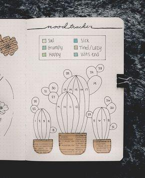 Cactus mood tracker