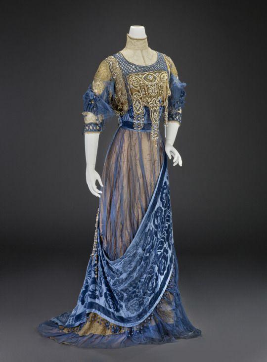 Evening Dress  Girolamo Giuseffi  c.1912  Indianapolis Museum of Art