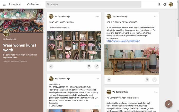 Google+   Via Cannella woonwinkel   Cuijk   https://plus.google.com/u/0/b/100469409057268696258/collection/AwkvgB