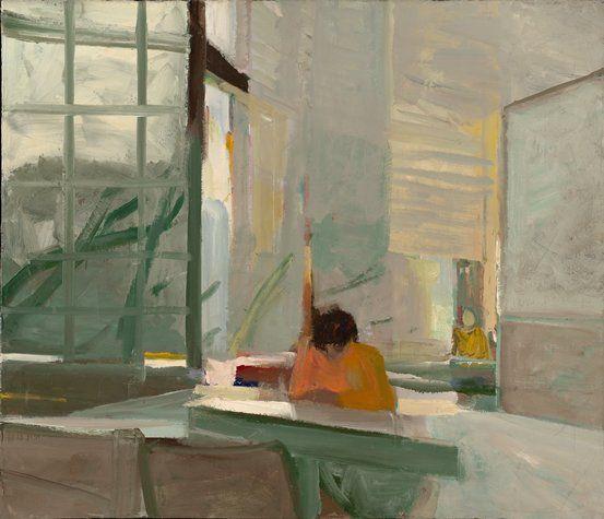 Elmer Bischoff  American (Berkeley, California, 1916 - 1991, Berkeley, California)  Orange Sweater  1955  painting | oil on canvas