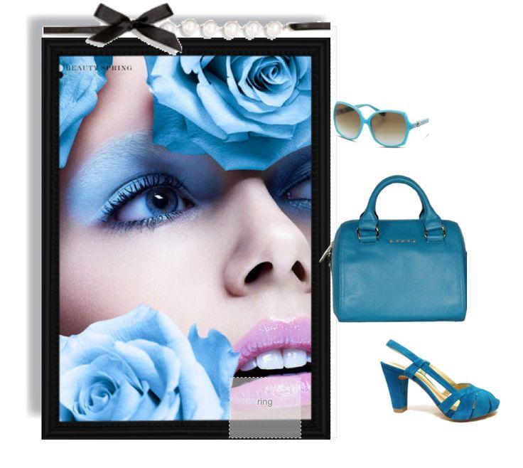 blue bag Style street. Este verano se lleva el azul. #bolso #ddona #clenapal