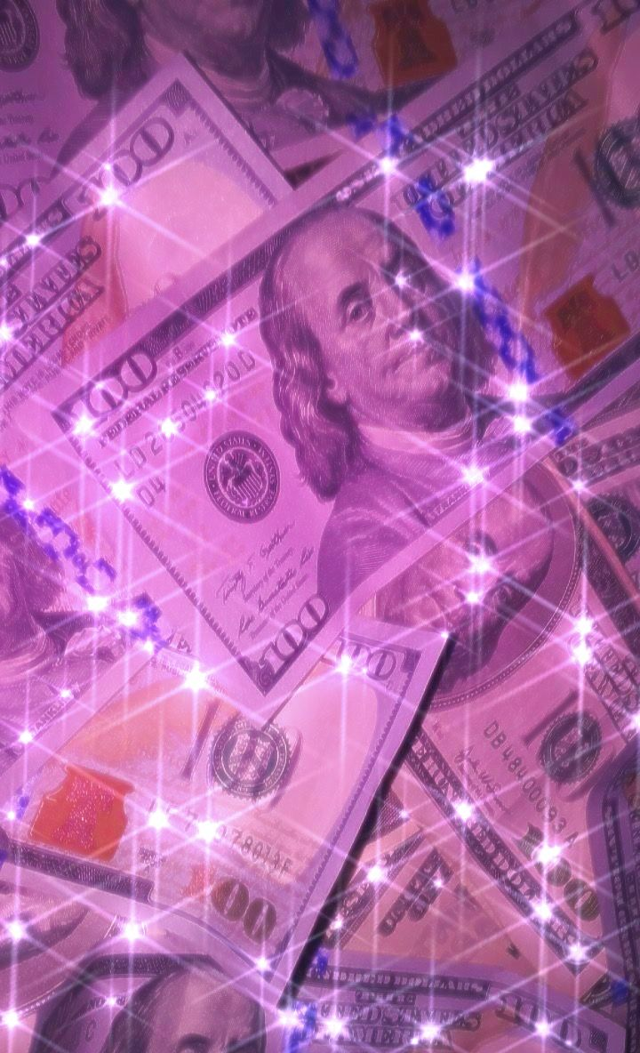 The goal is to get the. sparkly glitter purple pink money background aesthetic ...