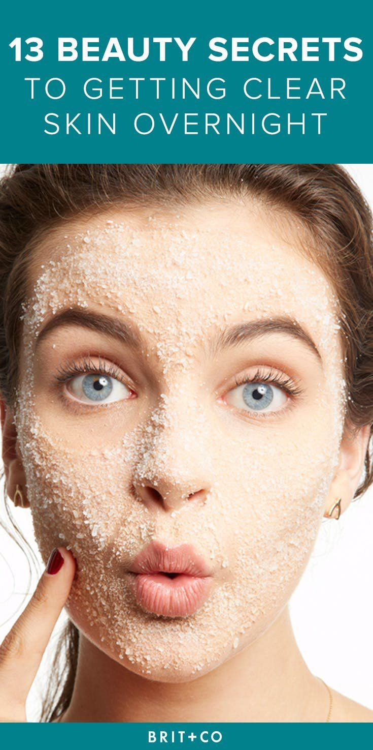 12 Simple Tricks to Get Clear Skin Overnight  Clear skin