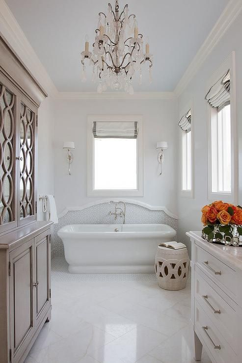 White Bathroom Blue Ceiling: 1000+ Ideas About Painted Ceilings On Pinterest