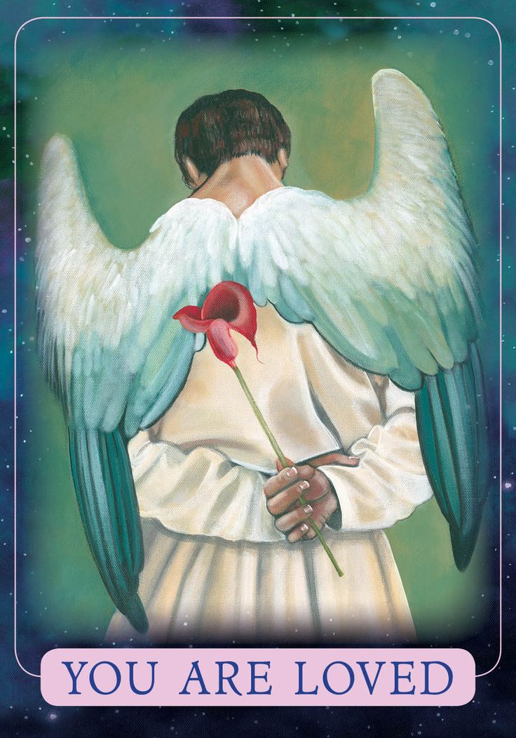 Oracle Card You Are Loved | Doreen Virtue - Official Angel Therapy Website
