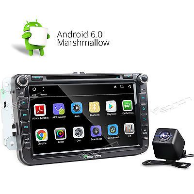 Price - $268.00.ㅤㅤㅤ                Camera Android 6.0 Car Stereo DVD Player S for VW Jetta Golf Skoda/Rapid/Superb