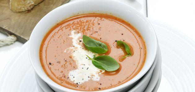 Recept - Tomatensoep met basilicum en room - Libelle