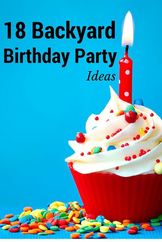 Looking for birthday party ideas for your kids?  Here are 18 cool backyard birthday party ideas for you to consider.