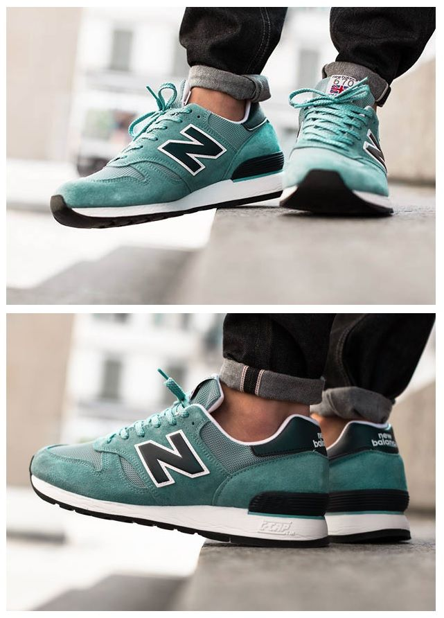New Balance 670 Sea Blue