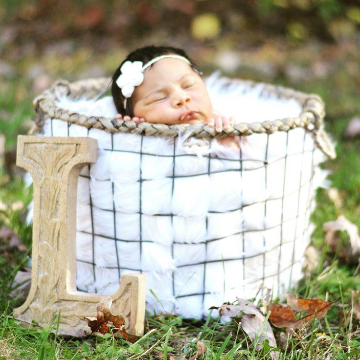 Newborn fall photography